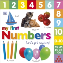 My First Numbers Let's Get Counting, Board book Book