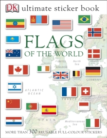 Flags of the World Ultimate Sticker Book, Paperback Book