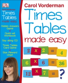 Carol Vorderman's Times Tables Made Easy,  Book