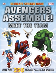 Marvel Avengers Assemble! Ultimate Sticker Book Meet the Team, Paperback Book
