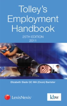 Tolley's Employment Handbook, Paperback Book