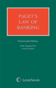 Paget's Law of Banking, Hardback Book