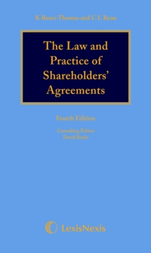 Reece Thomas & Ryan: The Law and Practice of Shareholders' Agreements, Hardback Book