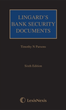 Lingard's Bank Security Documents, Mixed media product Book