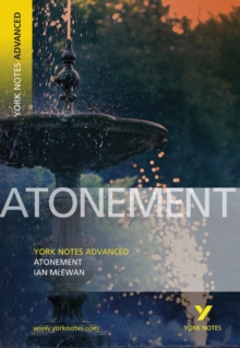 Atonement: York Notes Advanced, Paperback / softback Book