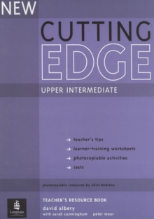 New Cutting Edge Upper Intermediate Teachers Book and Test Master CD-ROM Pack, Mixed media product Book