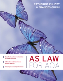 AS Law for AQA, Paperback / softback Book