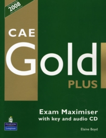 CAE Gold PLus Maximiser and CD with key Pack, Mixed media product Book