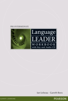 Language Leader Pre-Intermediate Workbook with key and audio cd pack, Mixed media product Book