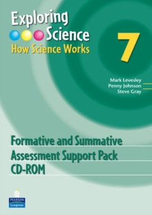 Exploring Science : How Science Works Year 7 Formative and Summative Assessment Support Pack CD-ROM, CD-ROM Book