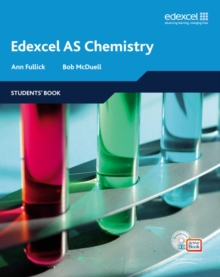 Edexcel A Level Science: AS Chemistry Students' Book with ActiveBook CD, Mixed media product Book