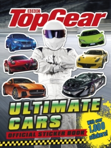 Top Gear: Ultimate Cars Official Sticker Book, Paperback Book