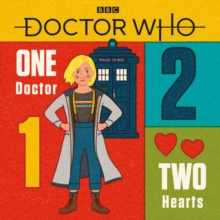 Doctor Who: One Doctor, Two Hearts, Hardback Book