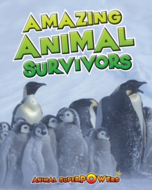 Amazing Animal Survivors, Hardback Book