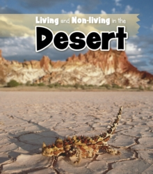 Living and Non-living in the Desert, Paperback / softback Book