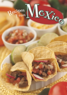 Recipes from Mexico, Paperback Book