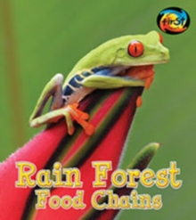 Rainforest Food Chains, Paperback Book