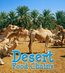 Desert Food Chains, Paperback Book