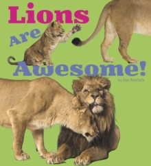 Lions are Awesome!, Hardback Book