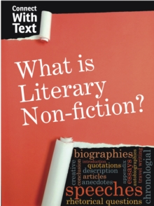 What is Literary Non-Fiction?, Hardback Book
