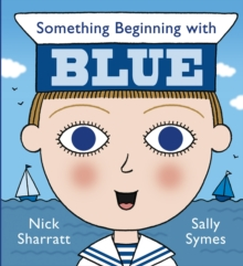 Something Beginning with Blue, Board book Book