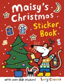 Maisy's Christmas Sticker Book, Paperback / softback Book