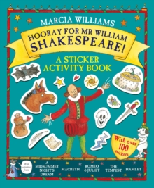 Hooray for Mr William Shakespeare! : A Sticker Activity Book, Paperback Book