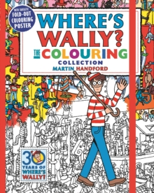 Where's Wally? The Colouring Collection, Paperback Book