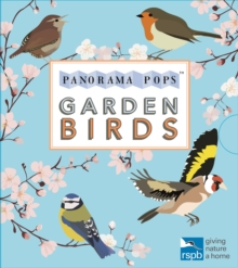 Garden Birds: Panorama Pops, Hardback Book