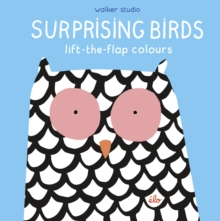 Surprising Birds: Lift-the-Flap Colours, Hardback Book