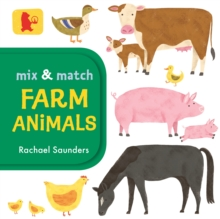 Mix and Match: Farm Animals, Board book Book