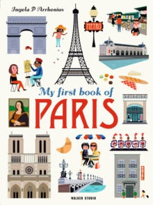 My First Book of Paris, Hardback Book