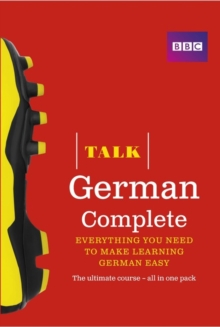 Talk German Complete (Book/CD Pack) : Everything you need to make learning German easy, Mixed media product Book