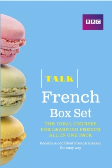 Talk French Box Set (Book/CD Pack) : The Ideal Course for Learning French - All in One Pack, Mixed media product Book