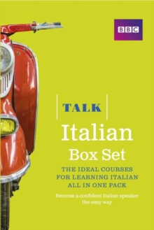 Talk Italian Box Set (Book/CD Pack) : The Ideal Course for Learning Italian - All in One Pack, Mixed media product Book