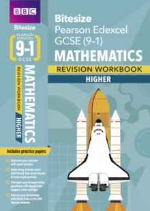 BBC Bitesize Edexcel GCSE (9-1) Maths Higher Workbook, Paperback / softback Book