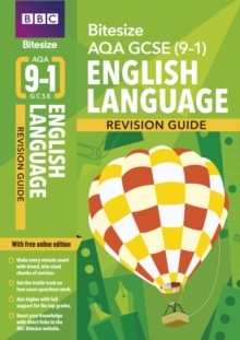 BBC Bitesize AQA GCSE (9-1) English Language Revision Guide, Mixed media product Book