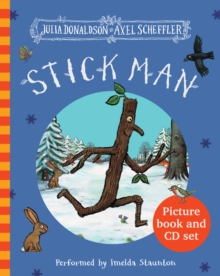 Stick Man Book & CD, Mixed media product Book