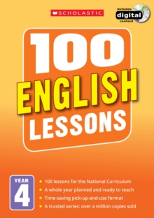 100 English Lessons: Year 4, Mixed media product Book