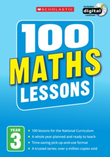 100 Maths Lessons: Year 3, Mixed media product Book