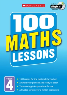 100 Maths Lessons: Year 4, Mixed media product Book