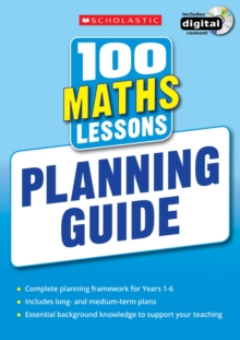 100 Maths Lessons: Planning Guide, Mixed media product Book