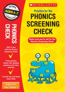 Phonics Screening Check, Paperback Book