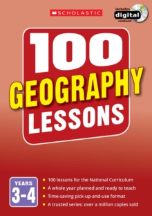 100 Geography Lessons: Years 3-4, Mixed media product Book
