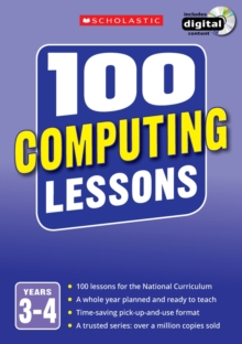 100 Computing Lessons: Years 3-4, Mixed media product Book