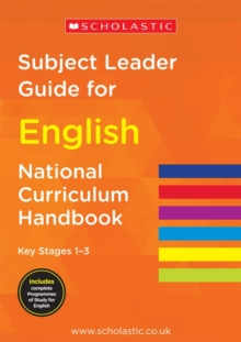 Subject Leader Guide for English - Key Stage 1-3, Paperback Book
