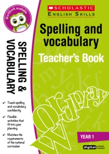 Spelling and Vocabulary Teacher's Book (Year 1), Mixed media product Book