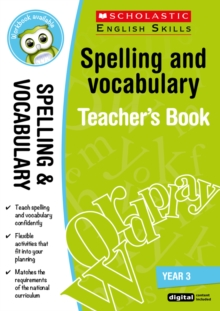 Spelling and Vocabulary Teacher's Book (Year 3), Mixed media product Book