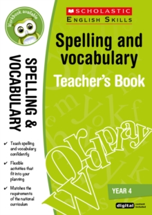 Spelling and Vocabulary Teacher's Book (Year 4), Mixed media product Book