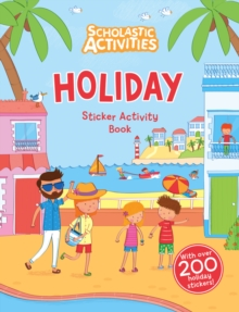 Holiday Sticker Activity Book, Paperback Book